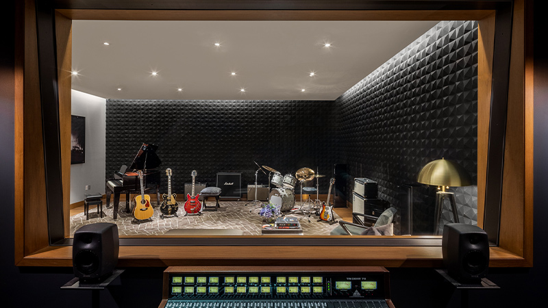 the waterline club music recording studio