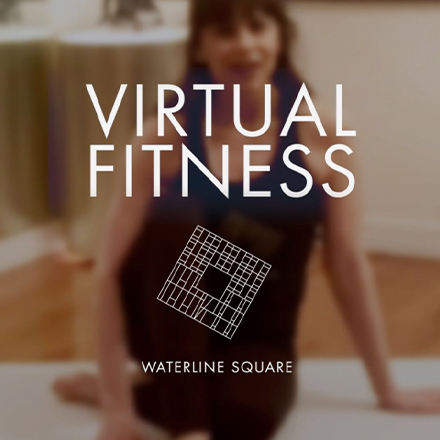 waterline square social instagram virtual fitness post