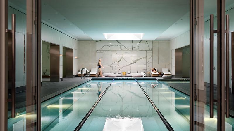 25-Meter, 3-Lane Lap Pool